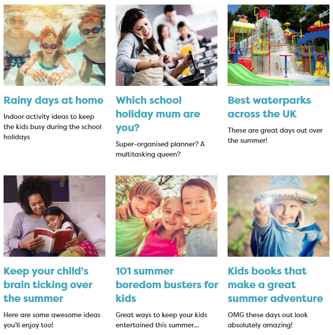 LYNEHAM HIVE: School Holiday Ideas From Families Online