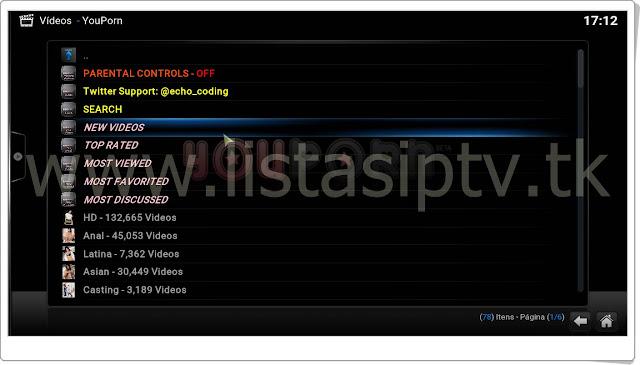 """Como instalar o Add-On """"YouPorn"""" no Kodi - Vídeos quentíssimos para o Kodi [+18]"""