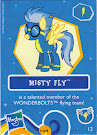 My Little Pony Wave 7 Misty Fly Blind Bag Card