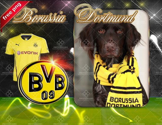 Marco para fotos del Borussia Dortmund