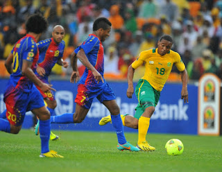 Cape Verde beats South Africa 2-1 in the World Cup qualifiers Russia 2018