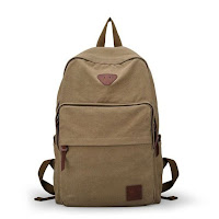 Ibagbar Vintage Fashion Canvas Backpack