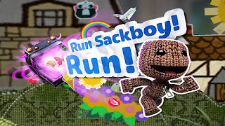 imagem do jogo Little Big Planet Run Sackboy! Run!