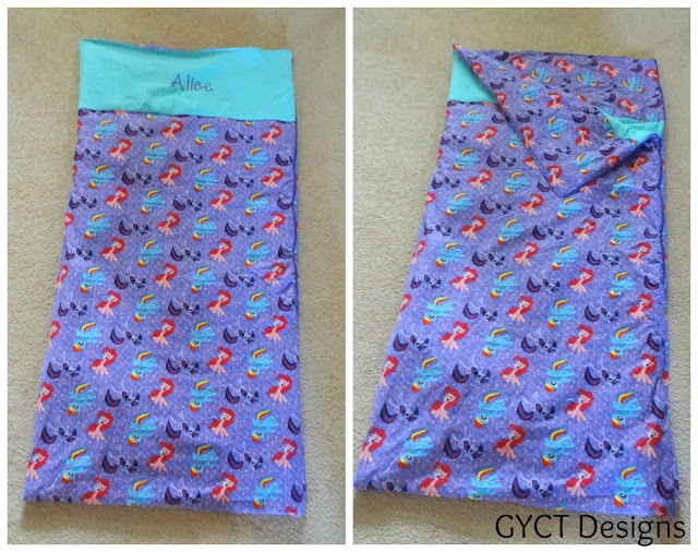 Kids Pony Camp Sleeping Bag