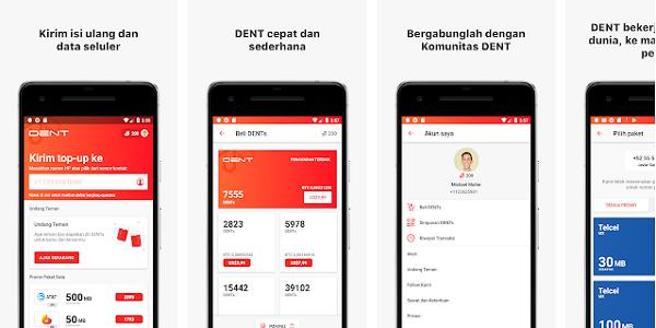 Aplikasi Dent Android