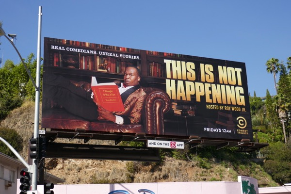 This is not Happening season 4 billboard