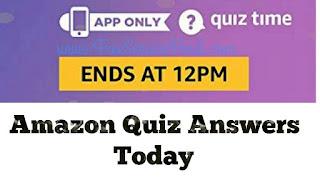 Amazon-Quiz-Answers