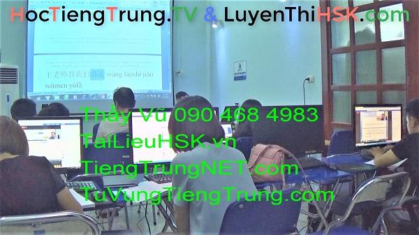 Lớp học tiếng Trung ở Hà Nội Bài 23 Lớp tiếng Trung VIP Ngày 16-9-2018