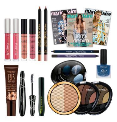 Maquillaje de Deborah Milano - regalo con la revista Divinity