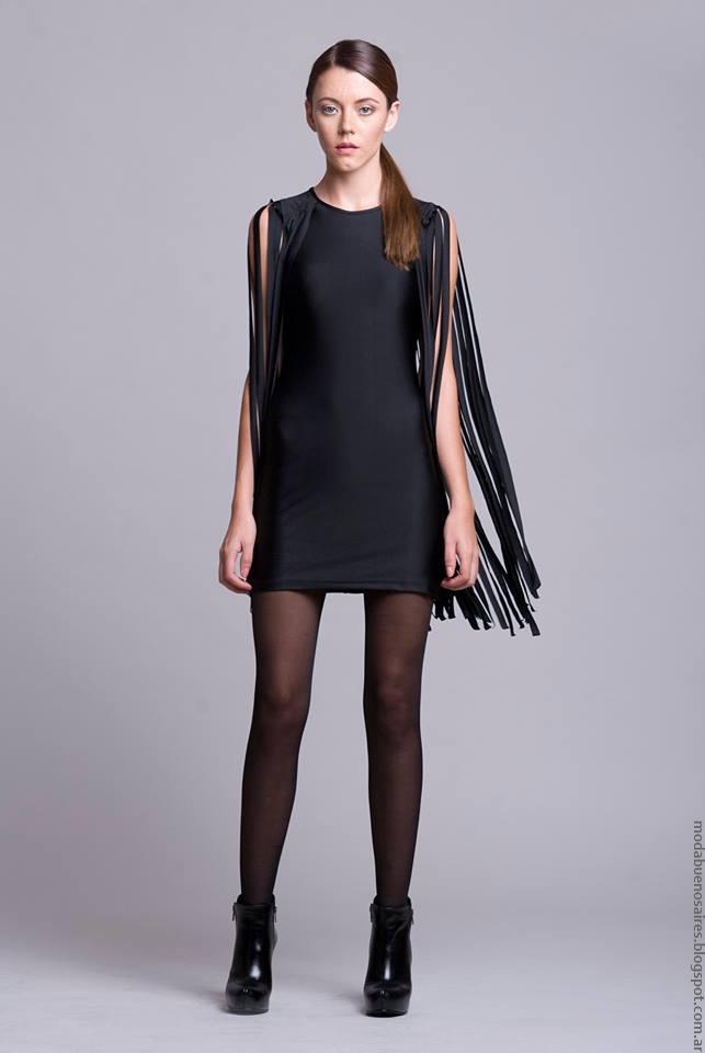 Vestidos invierno 2016 ropa de moda invierno 2016 Dominga Dominó.