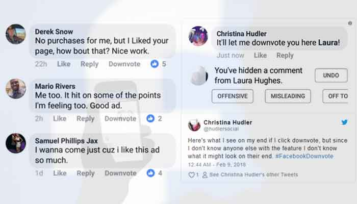 Facebook memiliki fitur baru yang berfungsi untuk melaporkan komentar kasar