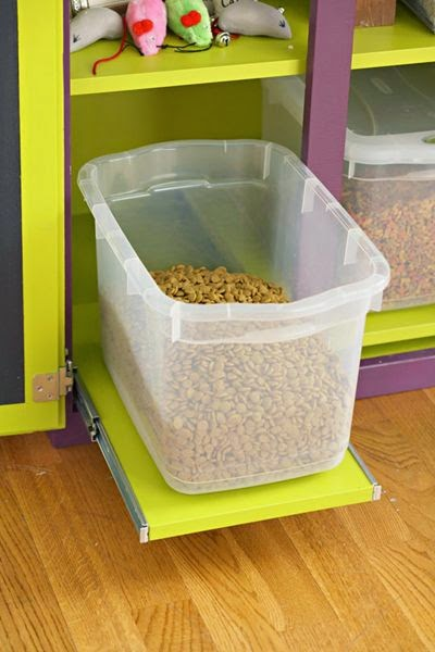 DICA 1 - Caixa Organizadora para ração dos animais de estimação