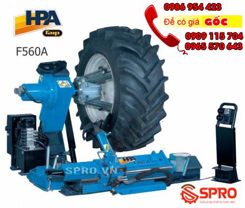 Giá máy tháo vỏ xe tải, máy ra vào lốp ô tô tải cỡ lớn HPA F560A