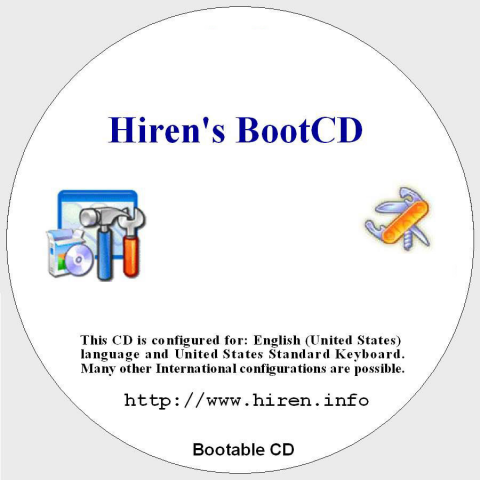 Free Software Crack Download: Free Download Hiren's BootCD
