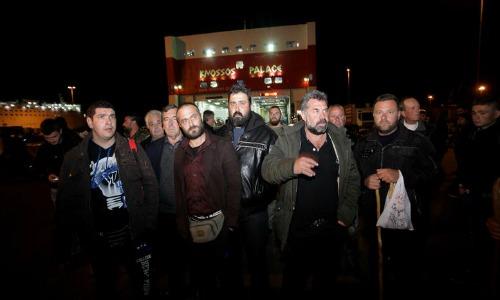 [Photos] Απόβαση αγροτών στην Αθήνα για το μεγάλο συλλαλητήριο