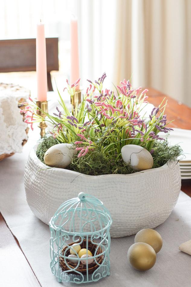 Elliven studio spring garden diy easter centerpiece for Diy garden studio