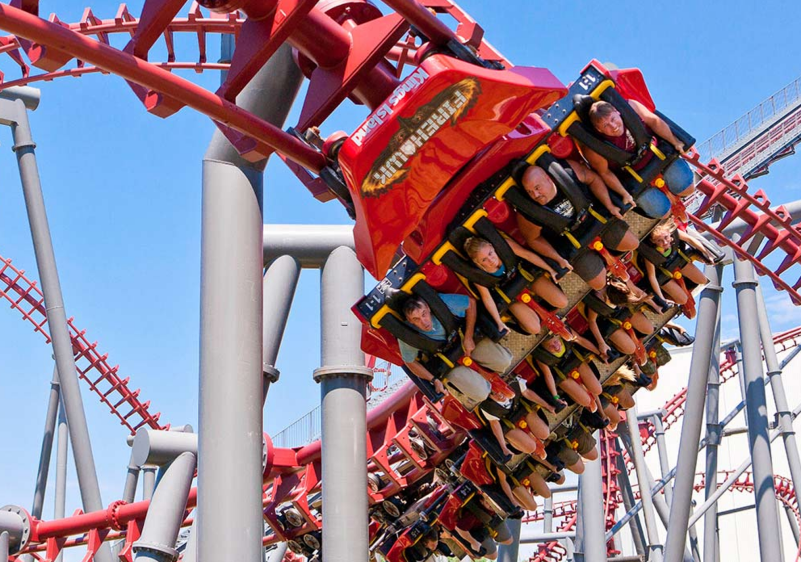 Newsplusnotes Kings Islands Firehawk Roller Coaster To Fly Away At