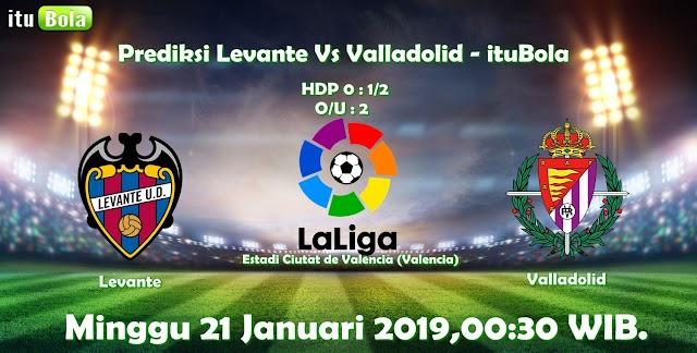Prediksi Levante Vs Valladolid - ituBola