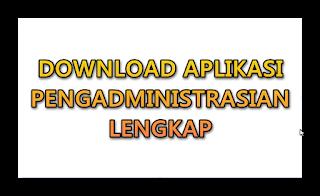 Program Aplikasi Pengadministrasian untuk jenjang SD,SMP SMA Sederajat