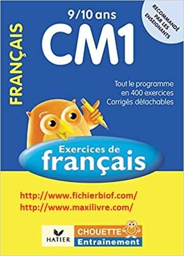 Français CM1 9/10 ans: Exercices de base