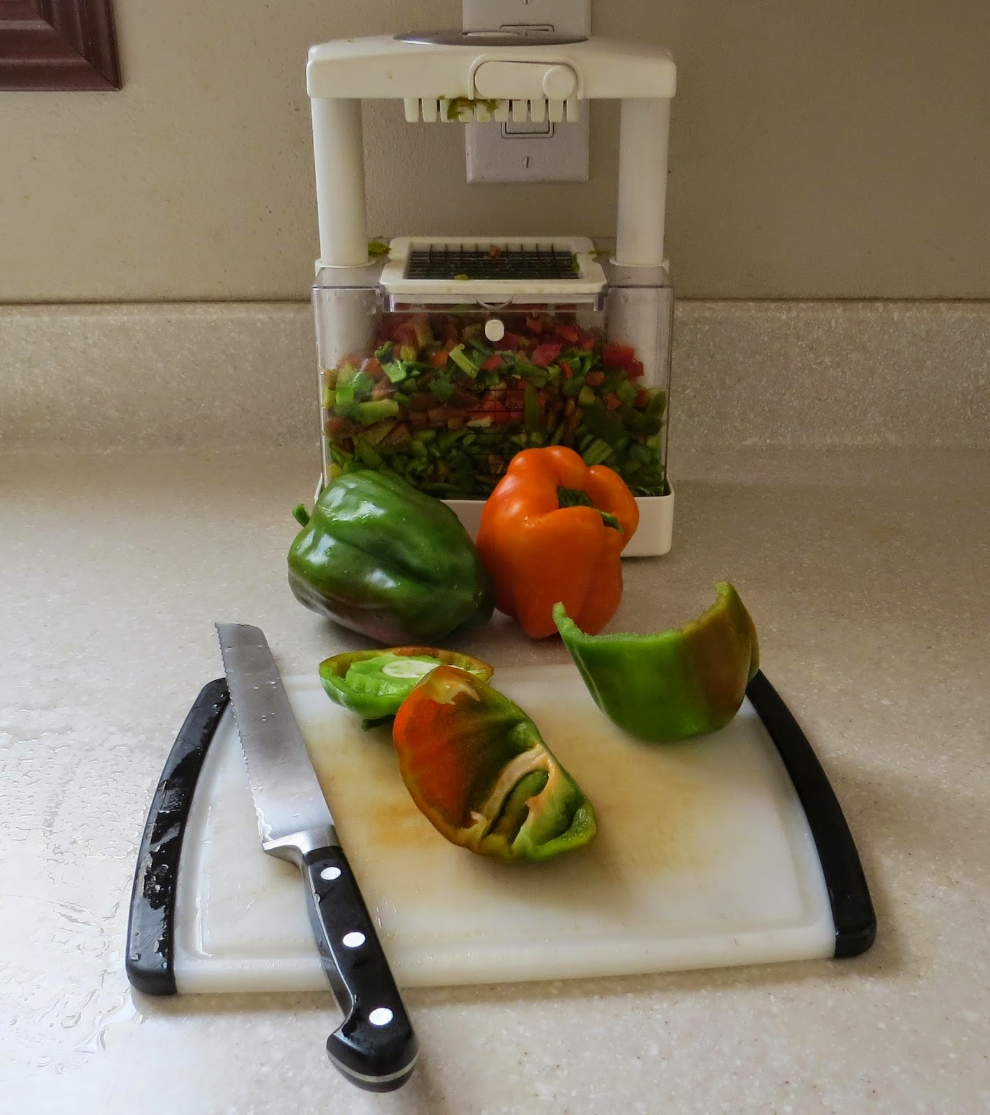 Preserving peppers