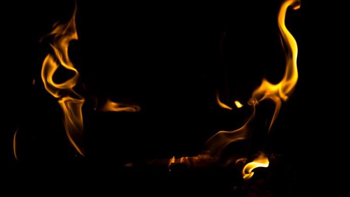 Wallpaper: Hot Fire