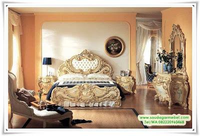 Set Kamar Tidur Klasik Luxury