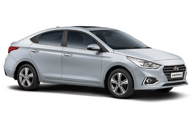 New Hyundai Verna 2017 white pics