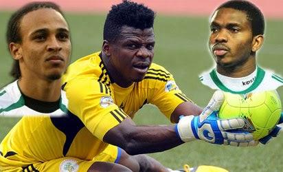 Brazil 2014: Osaze, Yobo, Agbim make Keshi's list