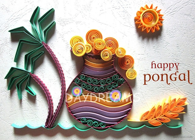 happy pongal greetings, wallpapers, wishes 2017
