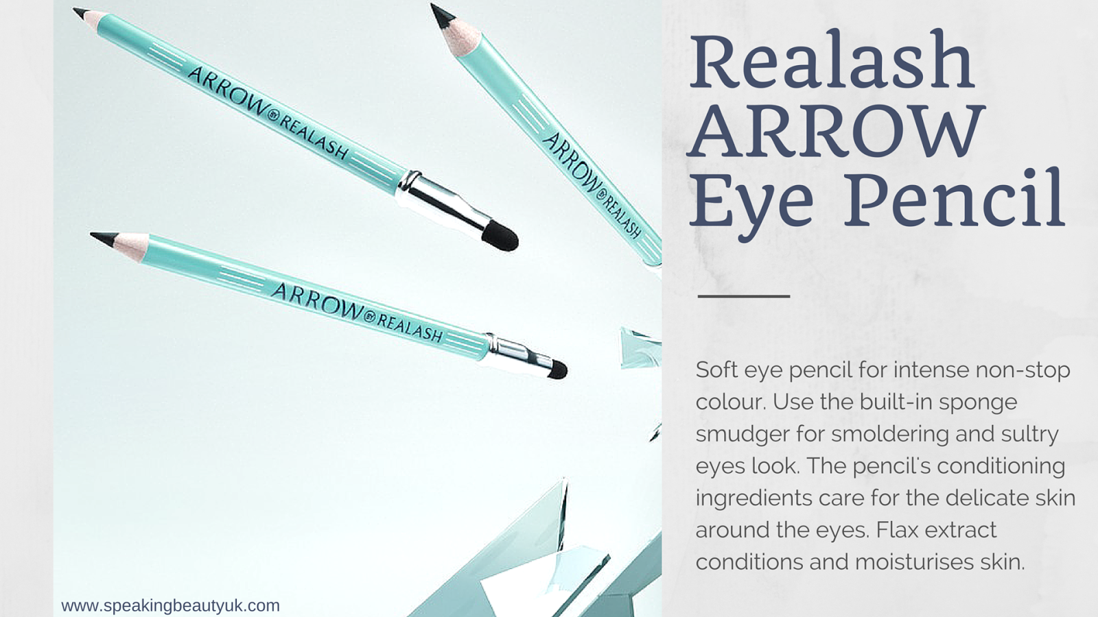 Realash Arrow Eye Pencil Giveaway