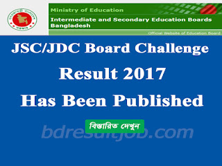 JSC/JDC and Equivalent Board Challenge Result 2017