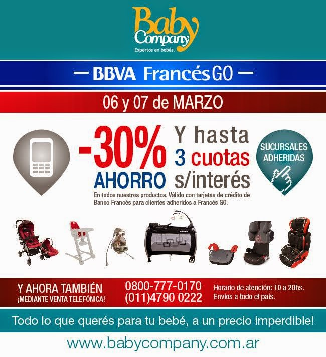 promo bebes y mamas promo franc s go en baby company. Black Bedroom Furniture Sets. Home Design Ideas