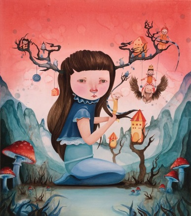 """Red mushroom circus"" - Ivana Flores 