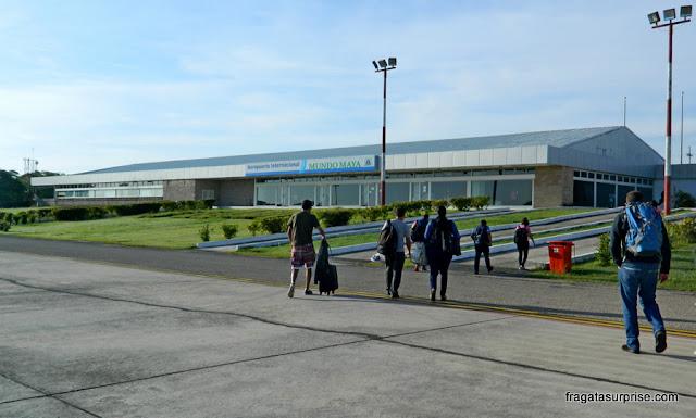 Aeroporto Internacional Mundo Maya, em Flores, Guatemala