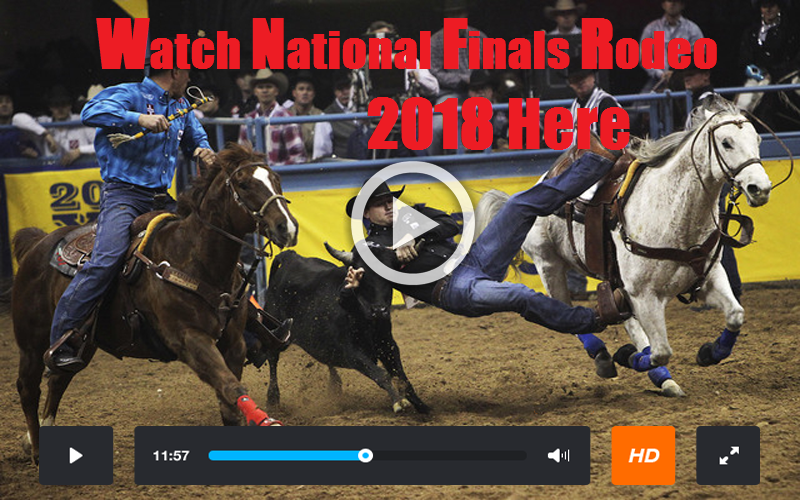 How To Watch Wrangler National Finals Rodeo 2018 Live