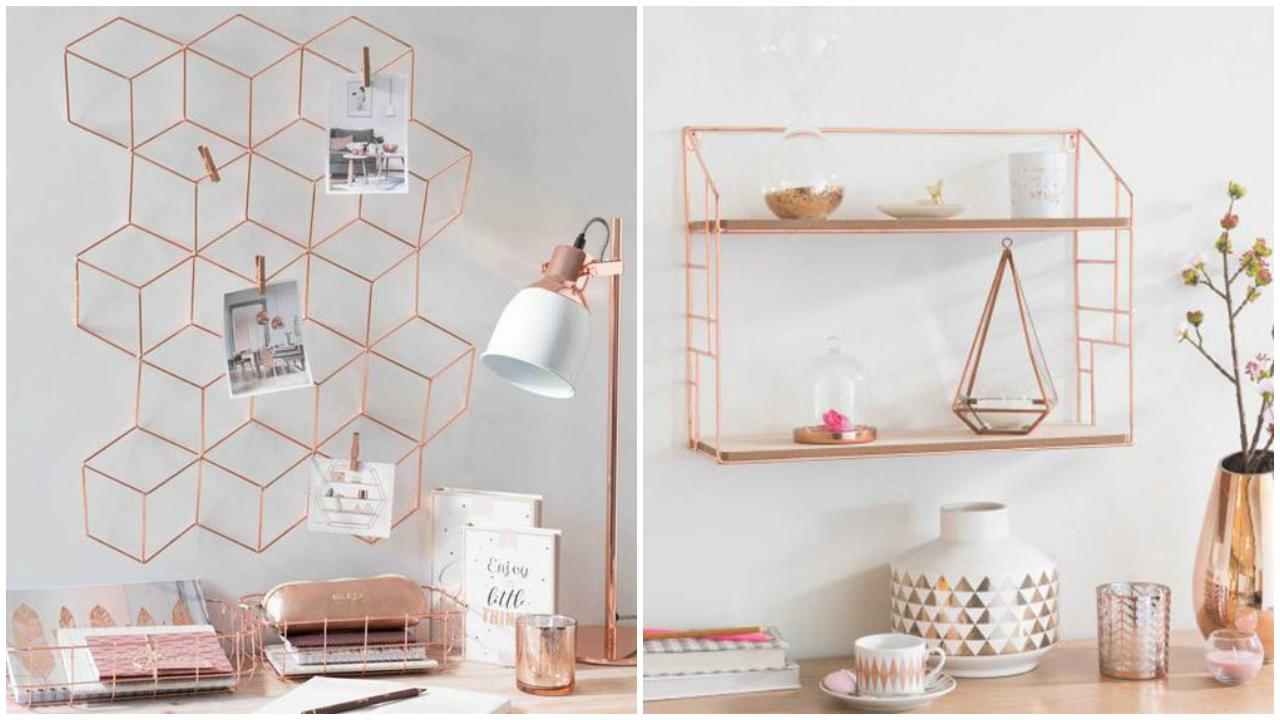 decoração-quarto-rose-gold