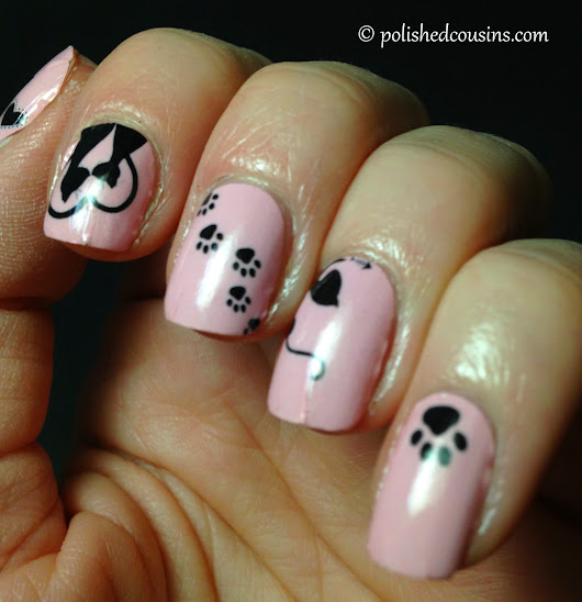 OMG Nail Strips - Kitty Love