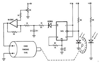 diagram circuit: DC motor 12V speed controller circuit