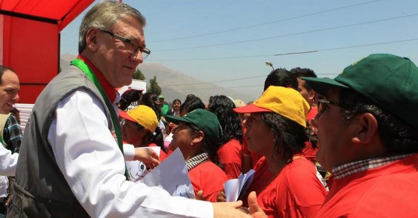 Se invertirán más de 4 millones de soles para empleos temporales en Huaura - www.trabajo.gob.pe