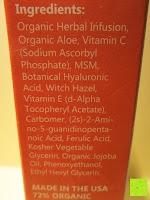 Inhaltsstoffe: OZ NATURALS - DAS BESTE Vitamin C Serum für Ihr Gesicht - Bio-Vitamin C + Amino + Hyaluronic Acid Serum- Klinische Stärke von 20% Vitamin C und Hyaluronic Acid, gibt Ihrer Haut das strahlende und jugendliche Aussehen und wird Ihnen die Ergebnisse bringen nach denen Sie schon immer gesucht haben!