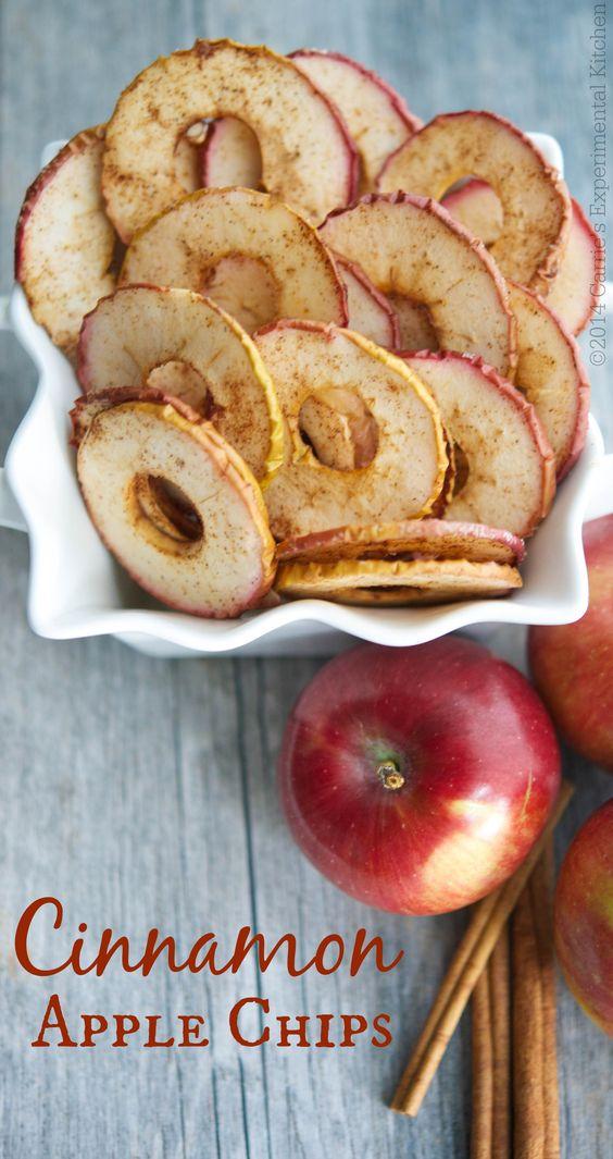Cinnamon apple Chips #cinnamon #apple #chips #applechip #healthyrecipes #healthyfood
