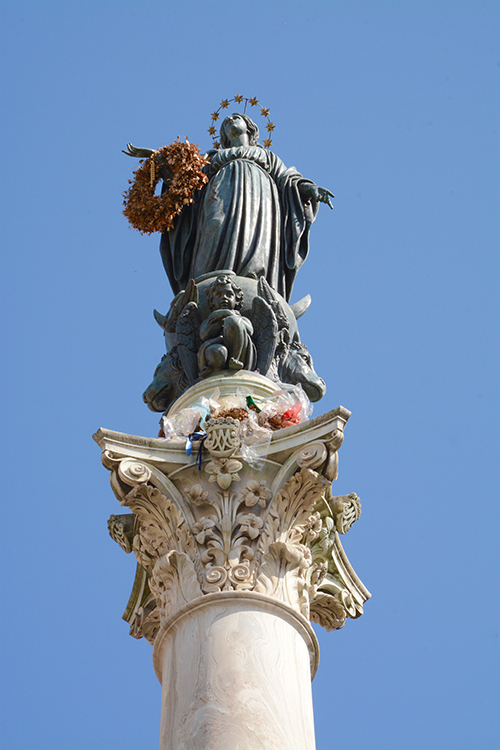 Column of the Immaculate Conception in Rome, Italy | My Darling Days