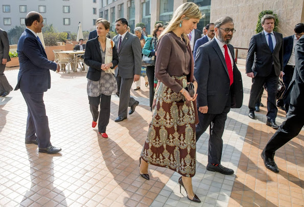 Queen Maxima Of The Netherlands During Her Visit To Pakistan, Day 1