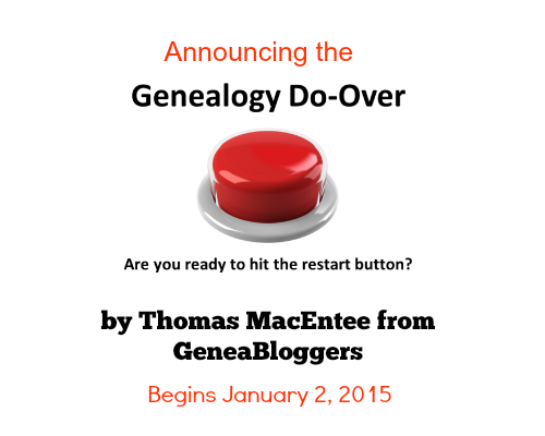Genealogy Do-Over by GeneaBloggers ~ allinatree.blogspot.com