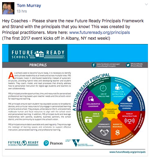 The Library Voice: Two More Future Ready Frameworks Announced For