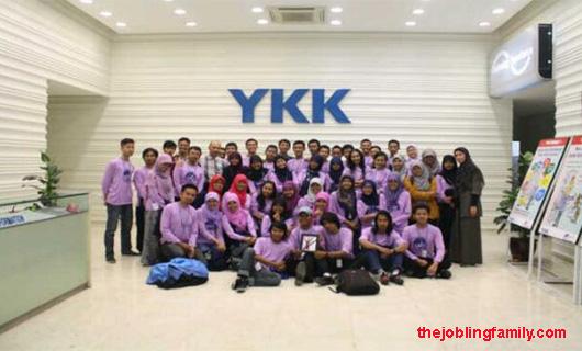 Lowongan Kerja Terbaru Bulan Oktober PT YKK Zipper Indonesia 2018