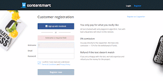ContentMart-registration
