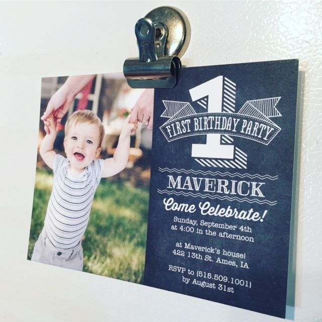 Glitter And Grass: Planning A First Birthday Party: Invites