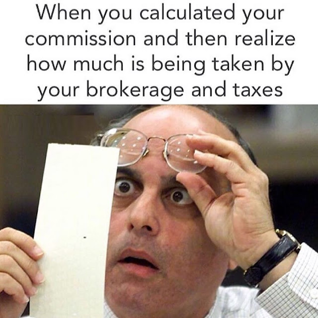 Funny Real Estate Memes - Brokerage and Taxes